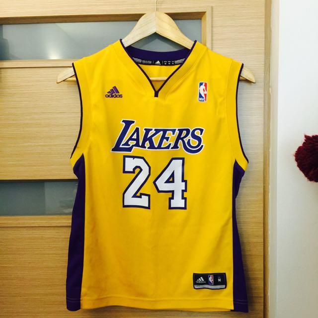 Kobe 湖人隊 Lakers 24號 M 正品 青年版Youth