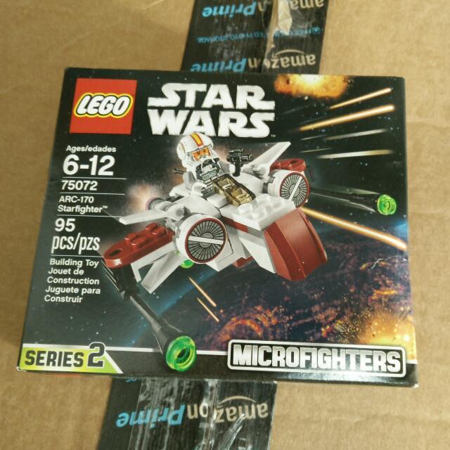 LEGO STAR WARS MICROFIGHTERS Arc170