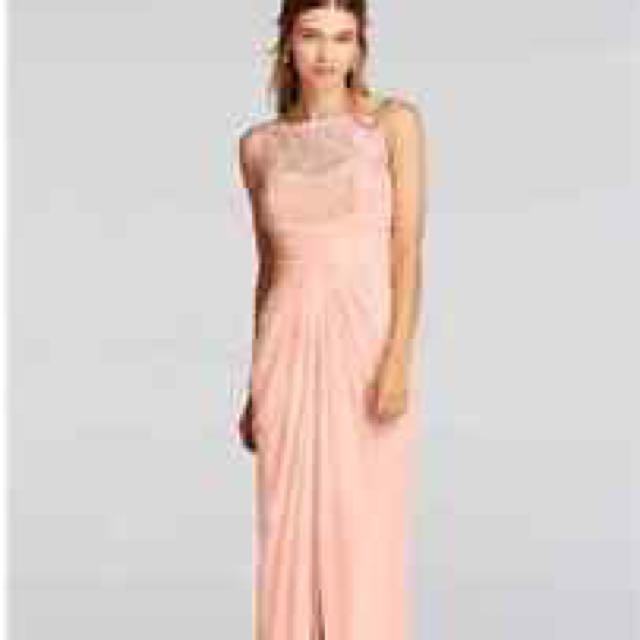 Long Nude Elegant Dress