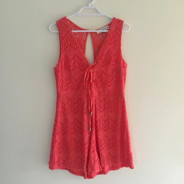 Loving Things Playsuit Size 10