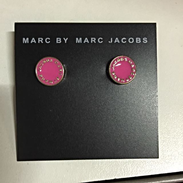 Marc By Marc Jacobs Iconic Earrings Studs