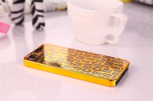 Marc by Marc Jacobs Metallic Letter iPhone 5/5S Case