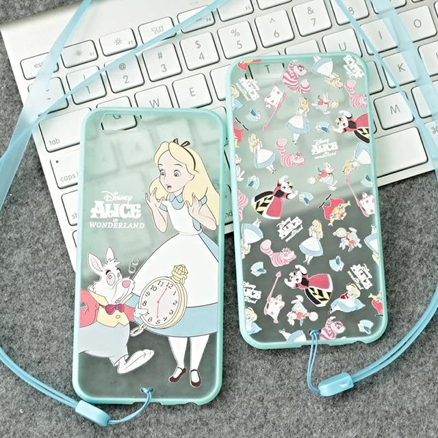 🍬MODA🍬愛麗絲掛脖手機殼