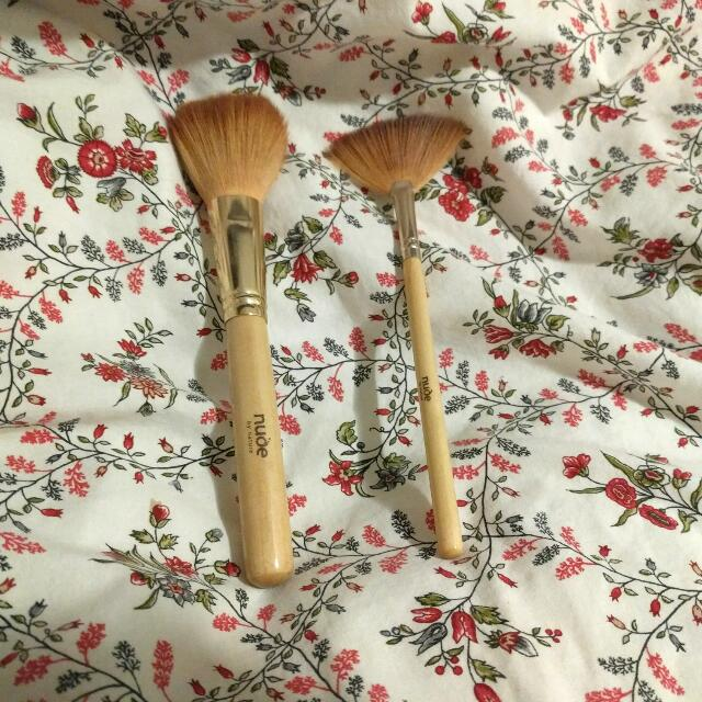 Nude By Nature Brush Bundle - Rose Gold