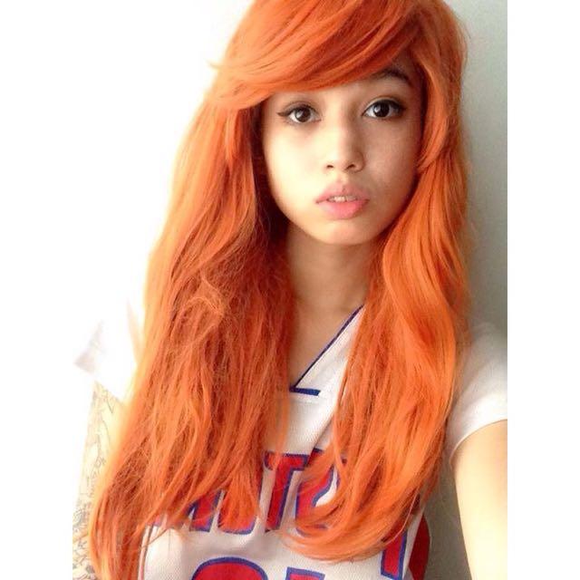 Orange/Ginger Wig