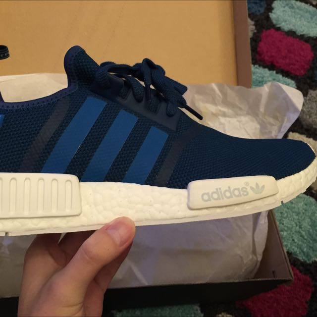 Adidas NMD R1 US10.5 DS Steel Blue