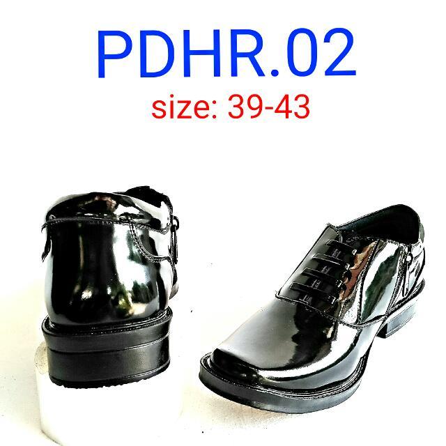 Sepatu PDH Dinas Polri Kilat Type PDH-R. 02