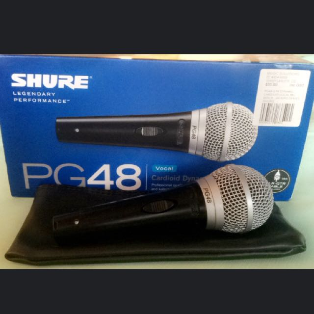 Shure PG48 Microphone