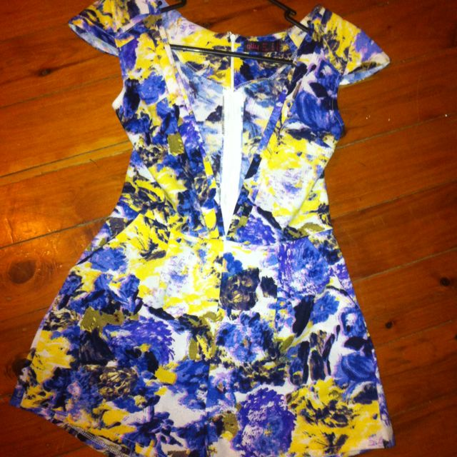 Size Small (8-10) Playsuit
