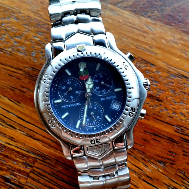 TAG HEUER 6000 Professional Chronograph Tachymetre