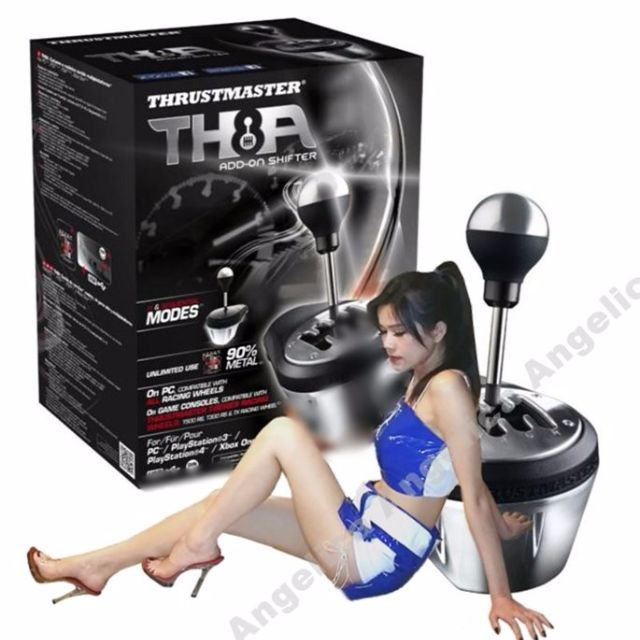 (現貨公司貨)THRUSTMASTER TH8A 排檔器 PS3/PS4/XboxOne/PC