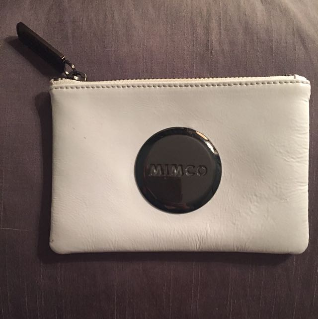 PENDING PAYMENT: White Mimco Pouch