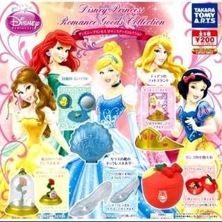全五種 迪士尼 公主小物