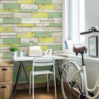 2016 korea wallpaper color wood design 7A