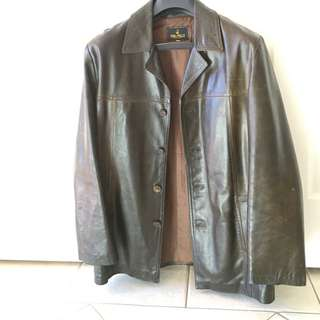 Men's Leather Jacket Made In Italy