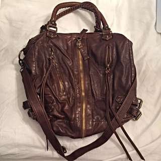 Urban Outfitters - Brown Faux Leather Purse
