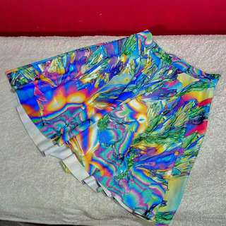 Black Milk - Psychedelic Science Skater Skirt (XS) Nwt