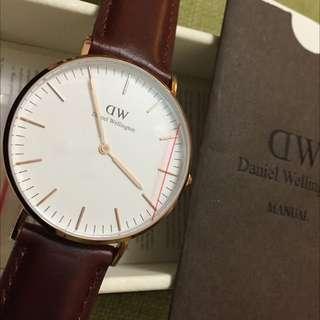 DW dw 錶 0507 全新 36mm