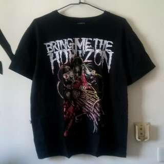 Bring Me The Horizon樂團印圖T(L)