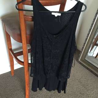 XL Lace Top