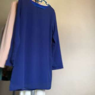 Straight Blouse With Lining