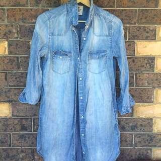 HnM Jean Shirt Dress