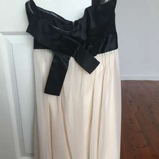 Bardot Strapless Dress