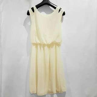 SALE - NEW Off White Work Dress