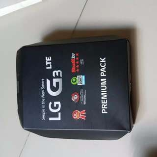 LG G3 PREMIUM PACK ( CHARGER ONLY)