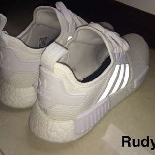 NMD all White 正品