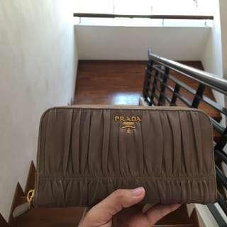 Prada Lambskin Wallet