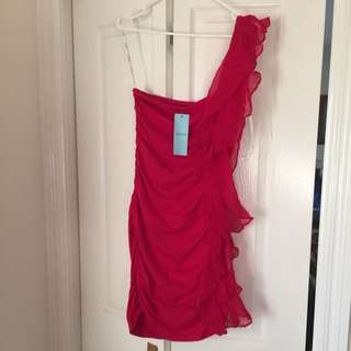 Red Kookai Dress