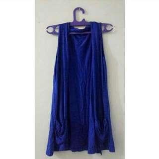 Preloved Blue Cardigan