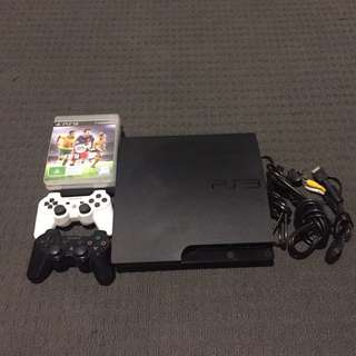 PS3 Plus Games And 2 X Controllers