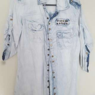 Size Xs Denim Shirt