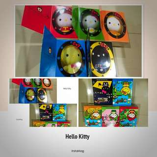 Hello Kitty Limited Edition Plush Toys (5 Piece)