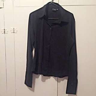 Shirt With Silky Material
