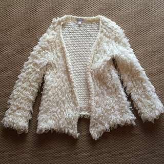 White Croshayed Jacket