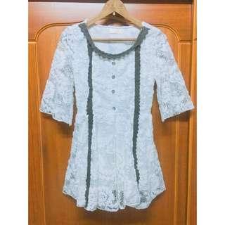 「含運」MUSSA 浪漫風洋裝