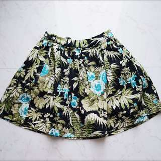 Muui Floral skirt