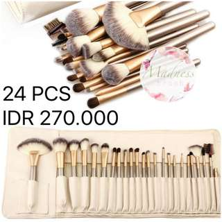 BEIGE BRUSH 24 PCS SET