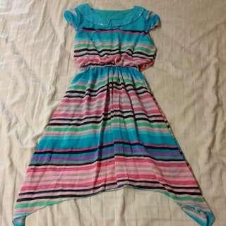 Vintage Coloured Dress