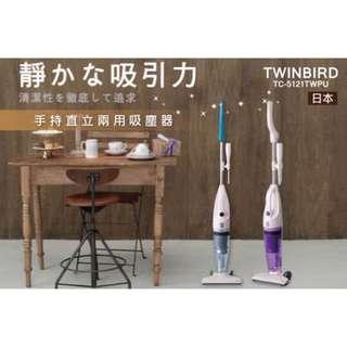 日本TWINBIRD 手持直立兩用吸塵器