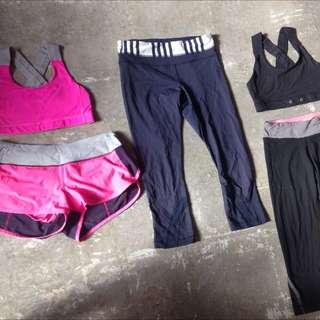 Lululemon Tights/crops/shorts