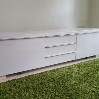 Ikea white TV Console
