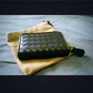 Bottega Veneta coin Purse Espresso BV 小型牛皮零錢包 深咖啡