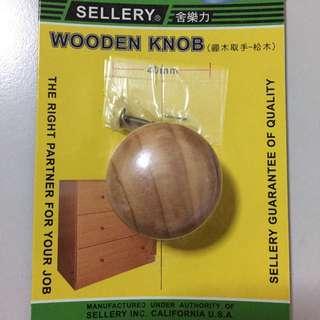 Sellery Wooden Door Knob