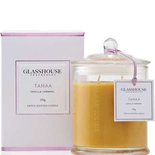 Brand New Glasshouse Candle - Tahaa