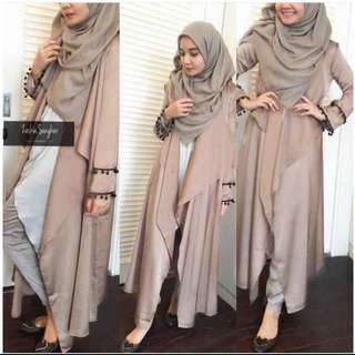 BEST SELLER Zaskia Long Cardy / Cardigan