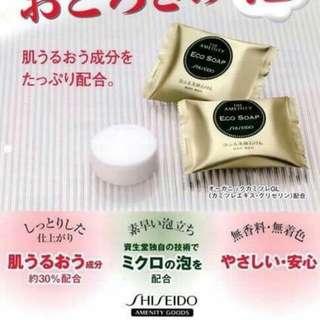 日本限定 SHISEIDO 資生堂洗顏皂10g
